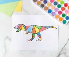 Dinosaur Art Project Cover