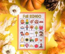 Fall Bingo Free Printable