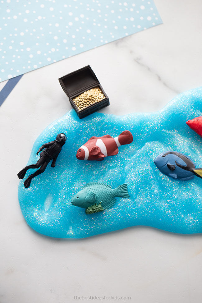 Under the Sea Theme Slime