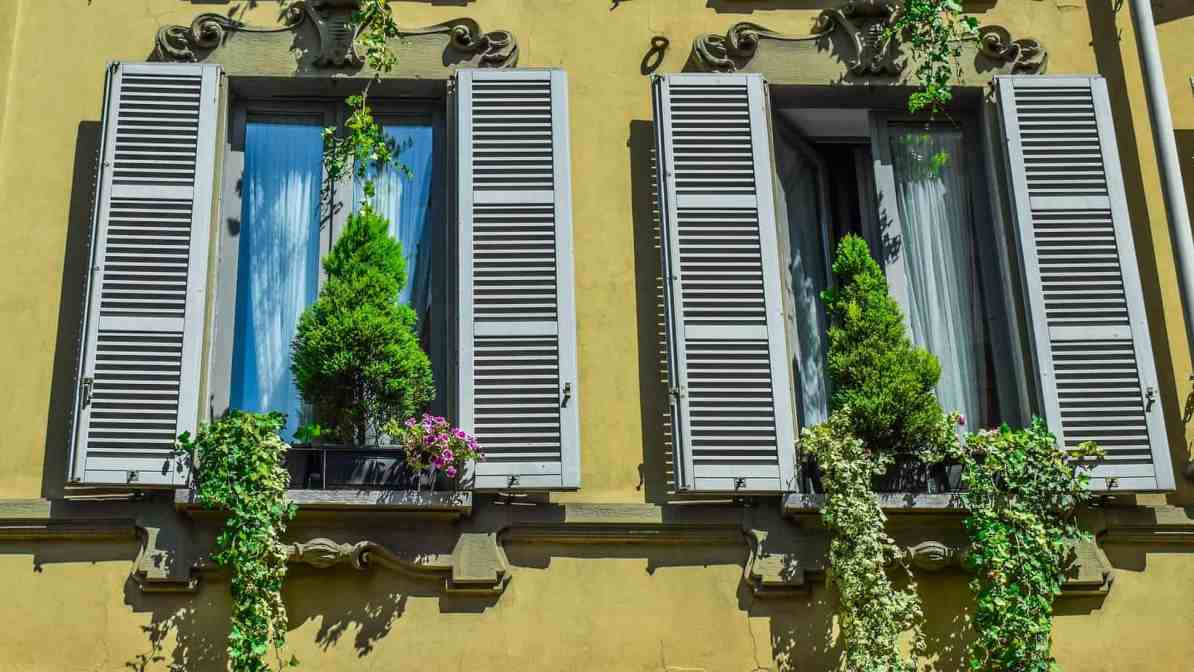 Milan Architecture windows