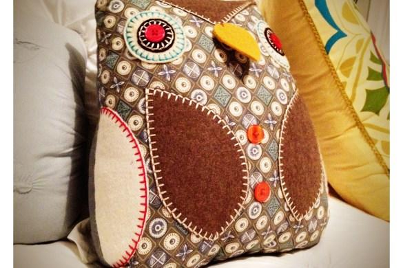 Owl Cushion, Freedom Furniture