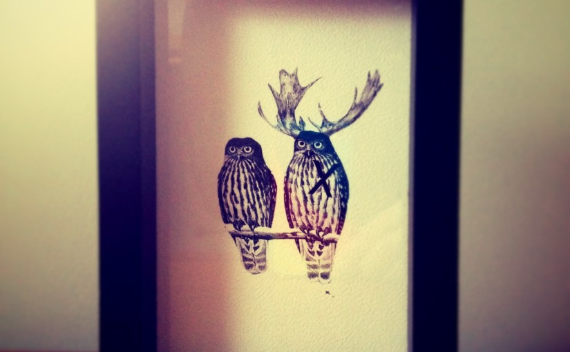 Acquisitions | Owl Print – Collected by LeeAnn Yare