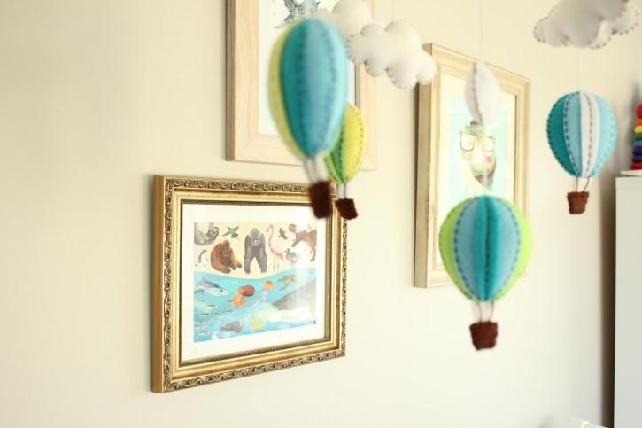 Nursery Sneak Peek | There's art on the walls…….