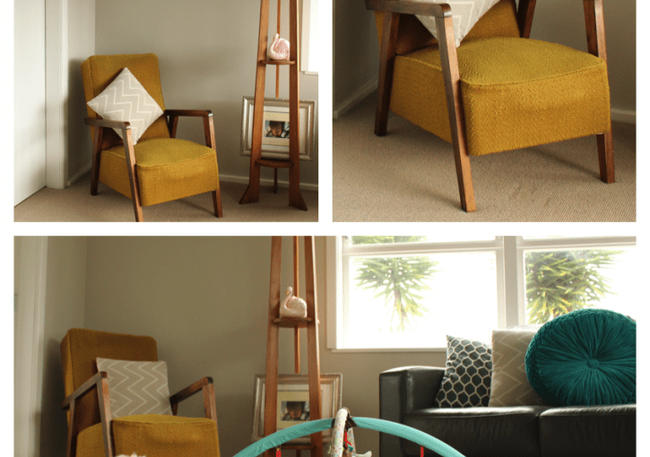 Op-Shop Show Off | Vintage Mustard Chair