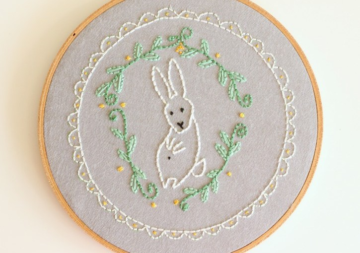 Show & Tell | Bunny Stitching