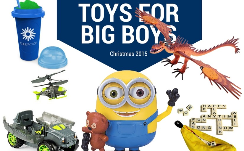 The Christmas List > Toys for Big-ish Boys + Giveaway