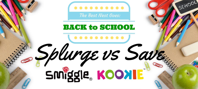 Back to School   Splurge Vs Save Smiggle + Kookie