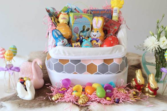 New Zealand's Top Mummy Mommy Blogger Blog Travel Easter Gift Basket