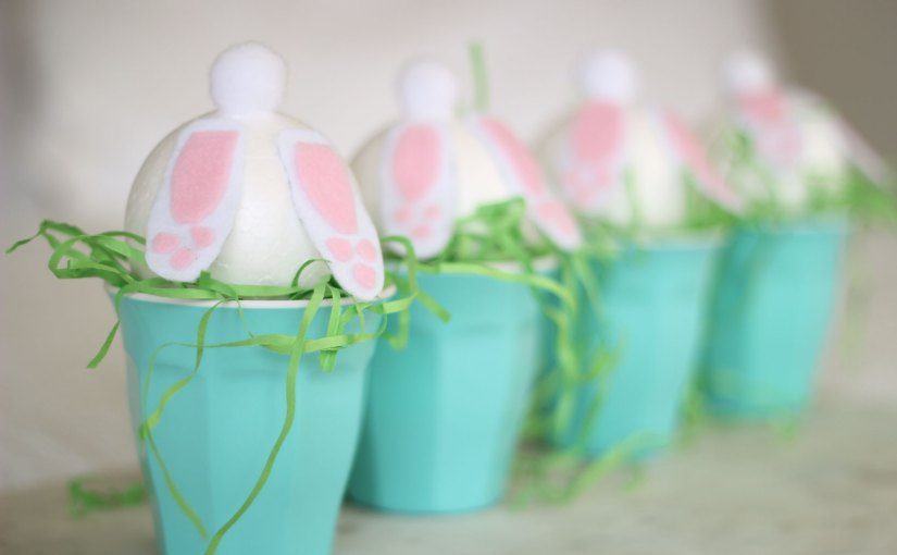 DIY: Easter Bunny Treat Cups + Happy Birthday Spotlight Giveaway #3