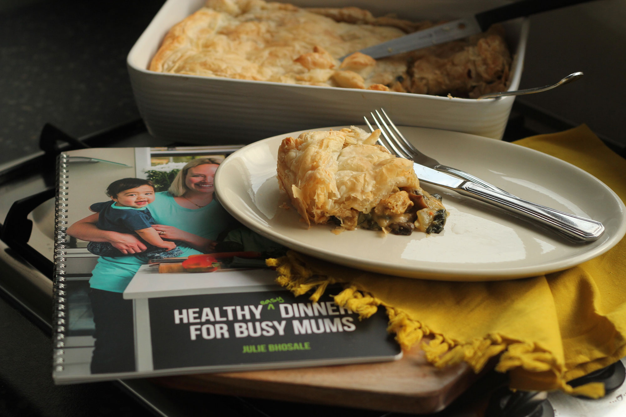 Book Review | Healthy, Easy Dinners for Busy Mums by Julie Bhosale