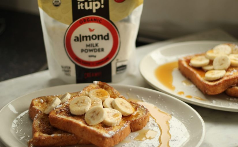 French Toast Recipe with Almond Milk – An Easy, Healthful Change