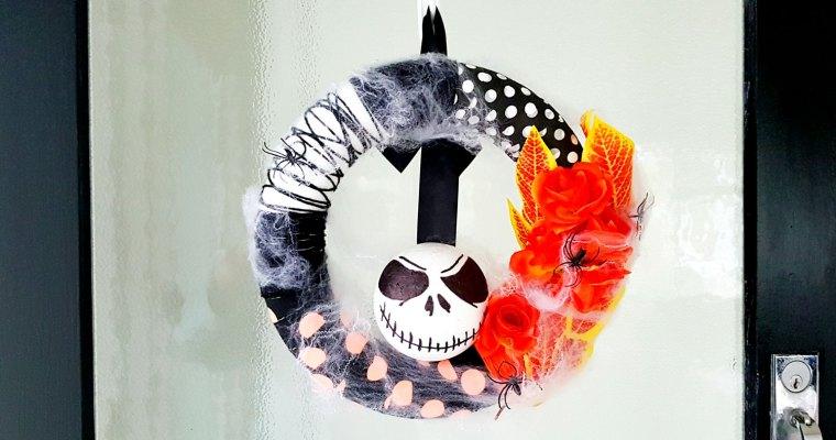 DIY – Nightmare Before Christmas Halloween Wreath