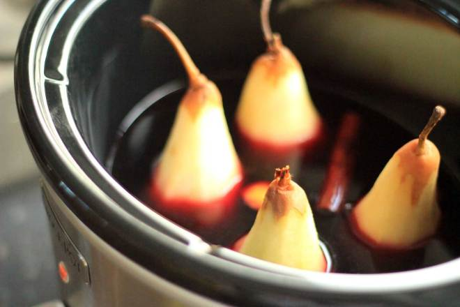 New Zealand's Top Mummy Blogger Parenting Travel Blog Family CrockPot Poached Pear Recipe