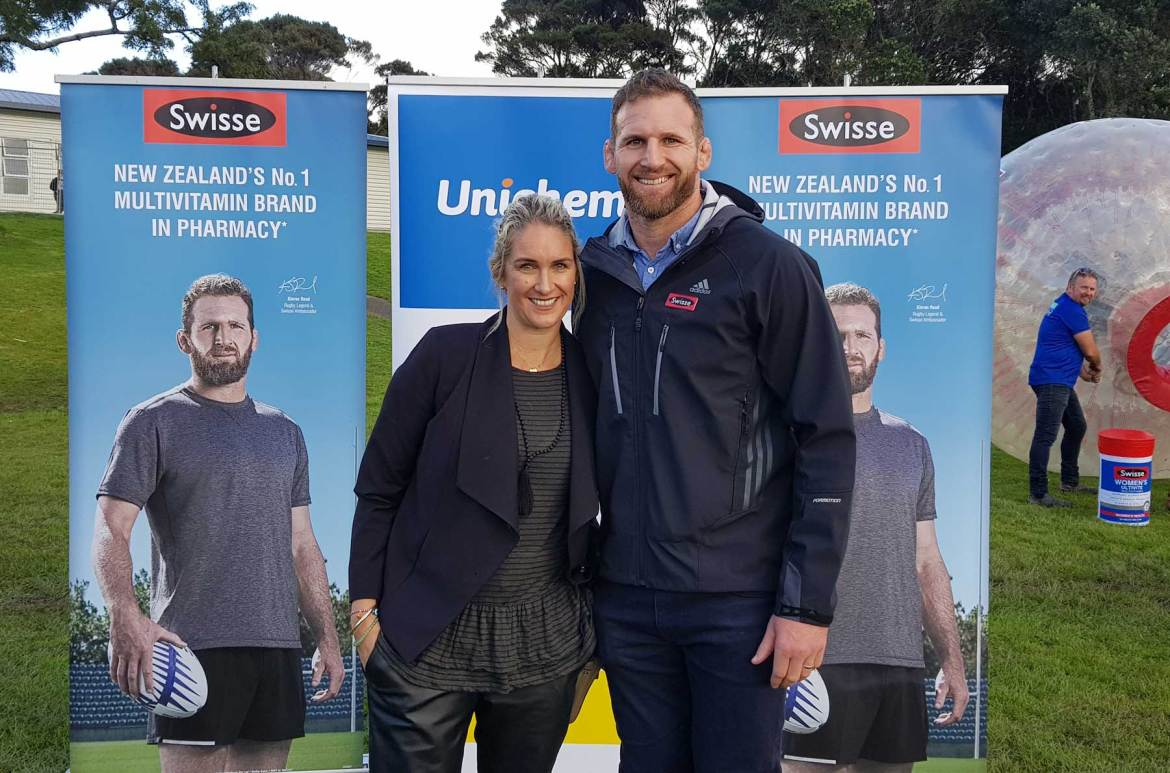 New Zealand's Top Mummy Blogger Parenting Travel Blog Family Rugby Nutrition Kieran Read