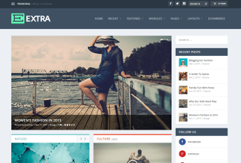 """The """"Extra"""" Theme from Divi"""