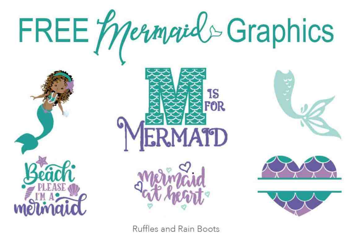 Download Collection of the Best Free Mermaid SVG Files on the Web ...