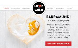 LTW Barramundi with Sriracha Mango Chutney