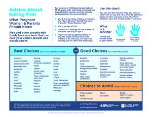 Seafood Nutrition Partnership - Advice About Eating Fish