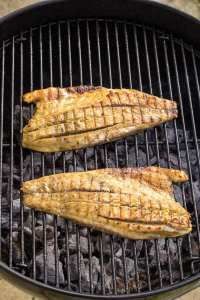 How to Avoid the 5 Most Common Fish-Grilling Disasters - Grilled Australis Barramundi