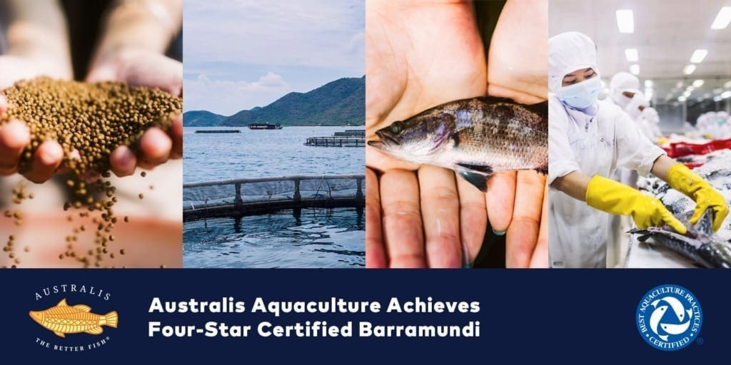 Australis Barramundi BAP 4-Star Certification
