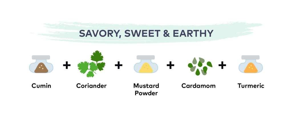 Savory, Sweet & Earthy Spice Blend