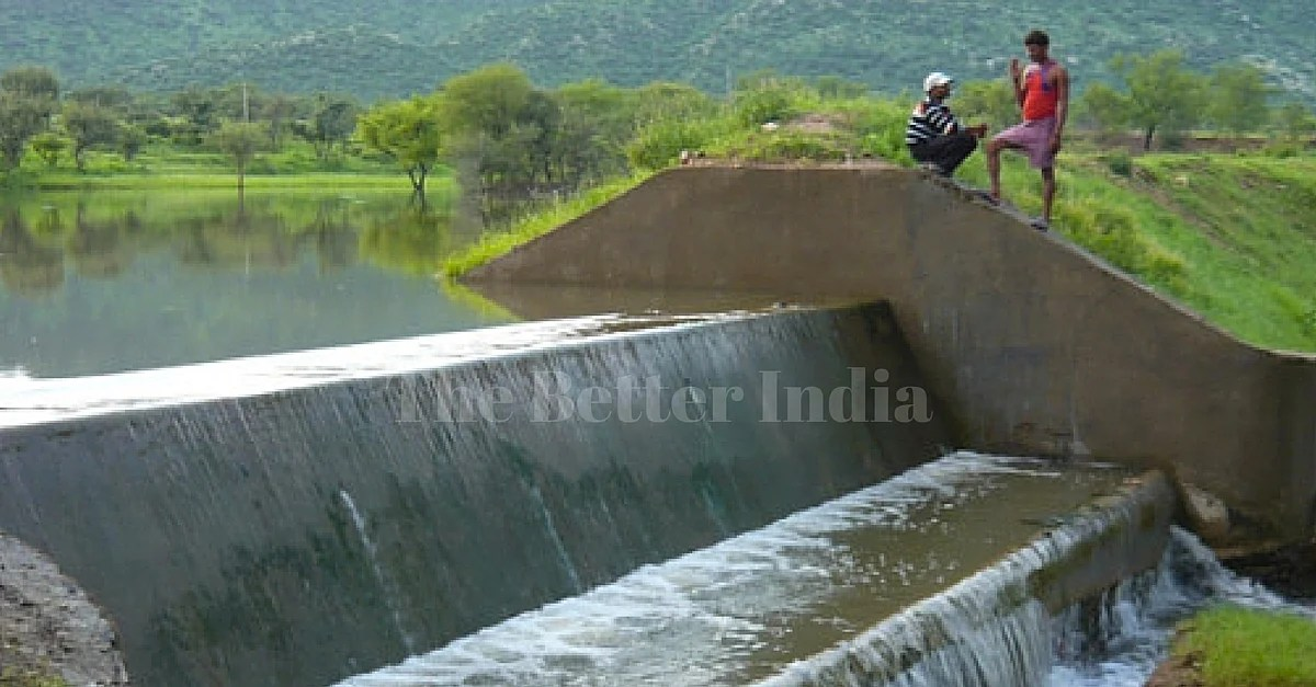 check dams in Rajasthan