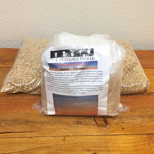 Summer Breeze Saison All Grain Beer Kit The Beverage