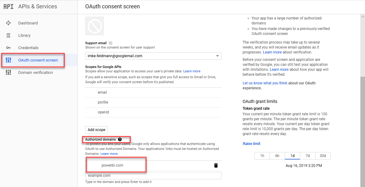 Custom Connector to import Google Sheets with OAuth2