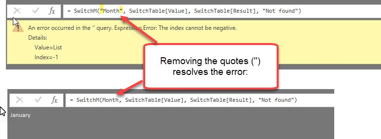 A generic SWITCH-function for the query editor in Power BI