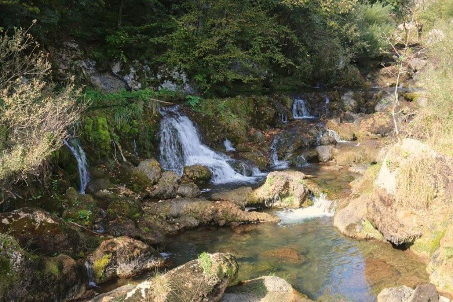 I take a brief detour on my way to Banja Luka to see the pretty waterfalls of Krupta River.