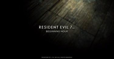 Resident Evil 7 Demo