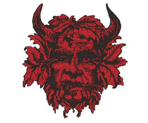 Green Man Brewery Logo Variation