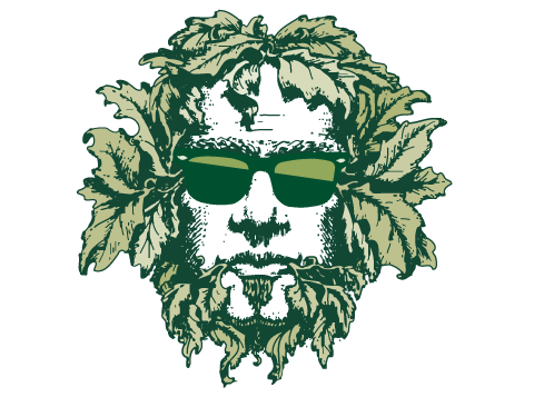 Green Man Brewery Summer Logo Variation