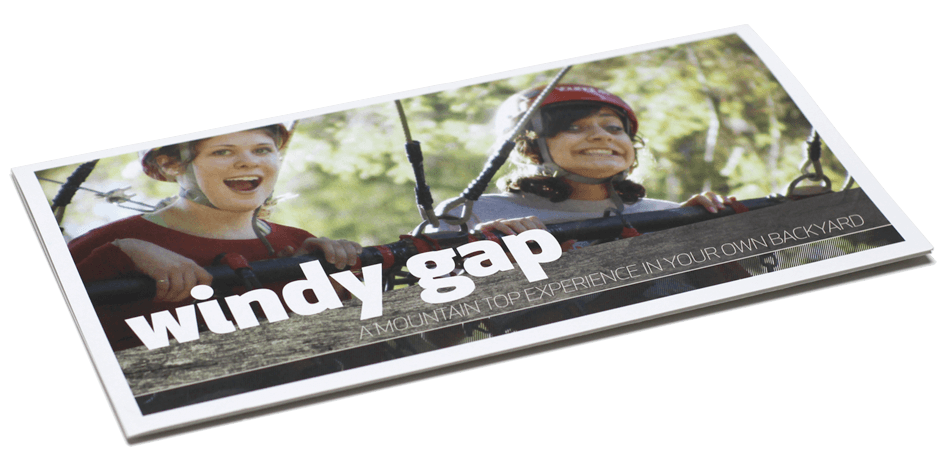 Windy Gap Brochure Alternate Cover Option