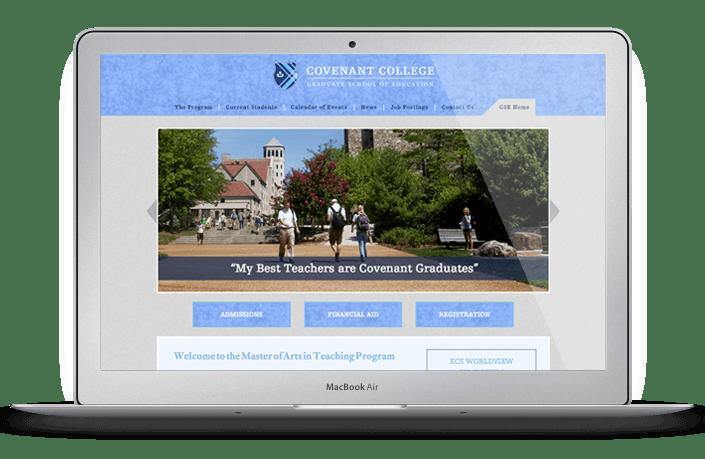 Covenant College G.S.E. Web Design