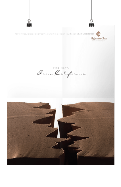 Highwater Clays California Poster Print