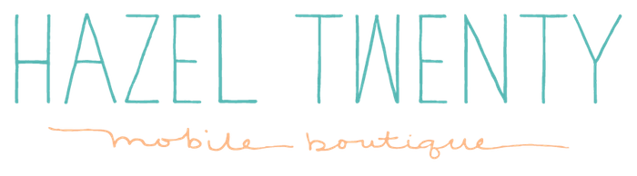 Hazel Twenty Mobile Boutique Logo