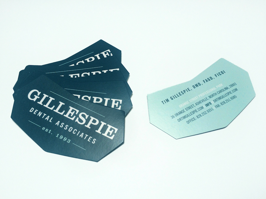Gillespie Dental Associates Business Cards