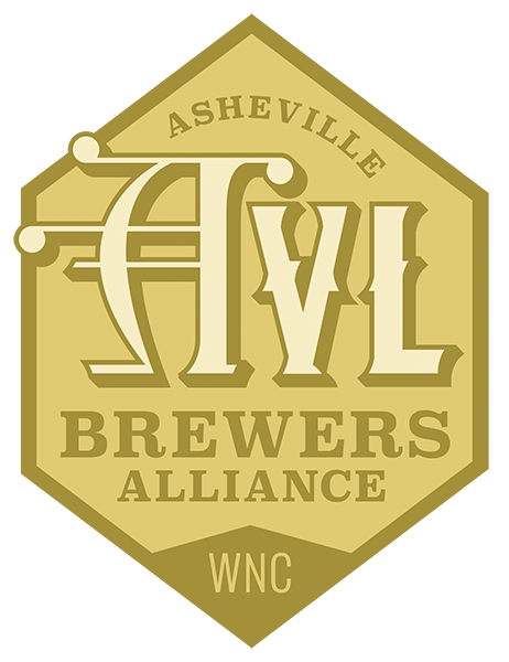 Asheville Brewers Alliance Logo Gold