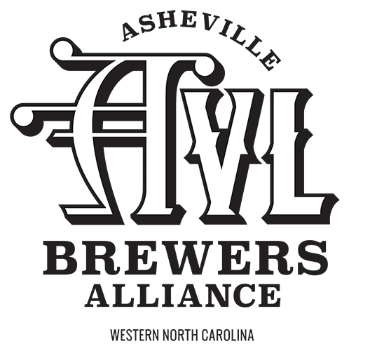 Asheville Brewers Alliance Logo Design Black