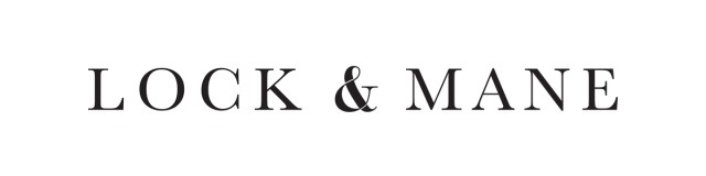 Lock and Mane Logo Brand