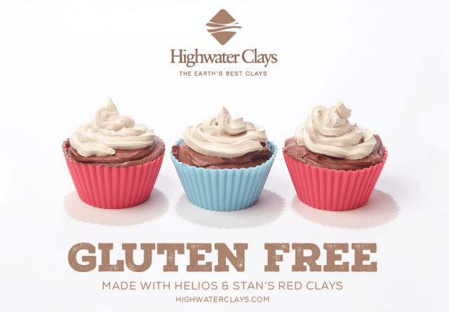 Highwater Clays Print Advertising Design Gluten Free