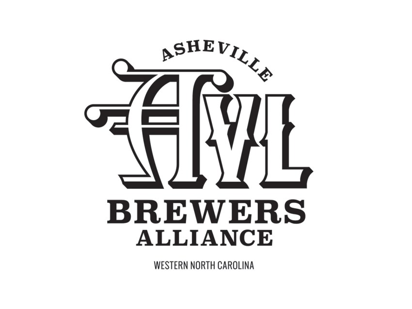 Asheville Brewers Alliance Official Logo Black and White