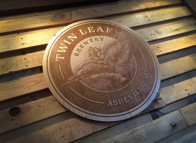 twin-leaf-brewery-wooden-sign-logo-big-bridge