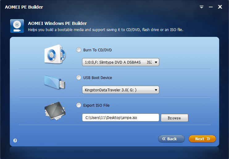 Windows PE ISO
