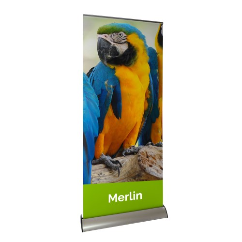 Merlin Interchangeable Roller Banner - The Big Display Company