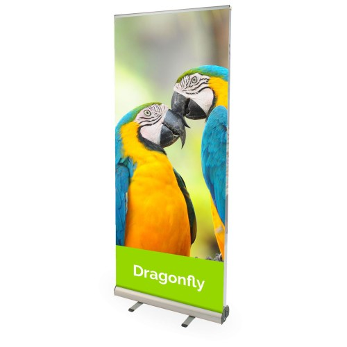 Dragonfly Double Sided Pull Up Banner - The Big Display Company