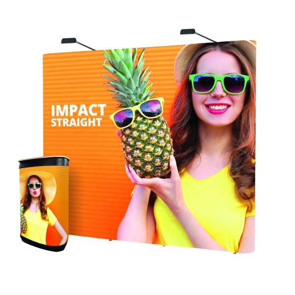 Impact Straight Exhibition Stands - The Big Display Company