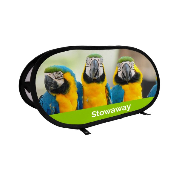 Stowaway Pop Out Banner - The Big Display Company