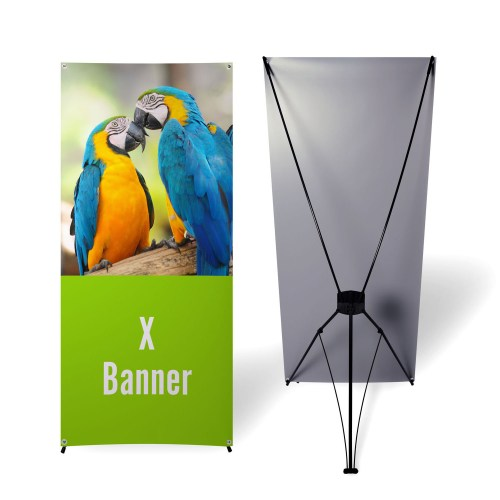 Printed X Banner Displays - The Big Display Company